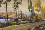 Carle Hessay 1953 Lakeside in the Cariboo
