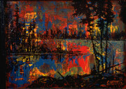 Carle Hessay 1970 Temptations (Glowing Lake)