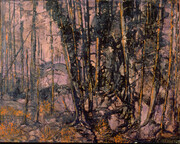 C Hessay 1977 Burnt Trees
