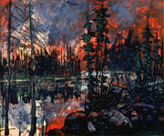 Carle Hessay 1970 Forest Fire