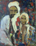 Carle Hessay Berber Man and Wife